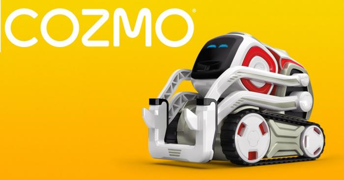romain bobiere - cozmo robot intelligent