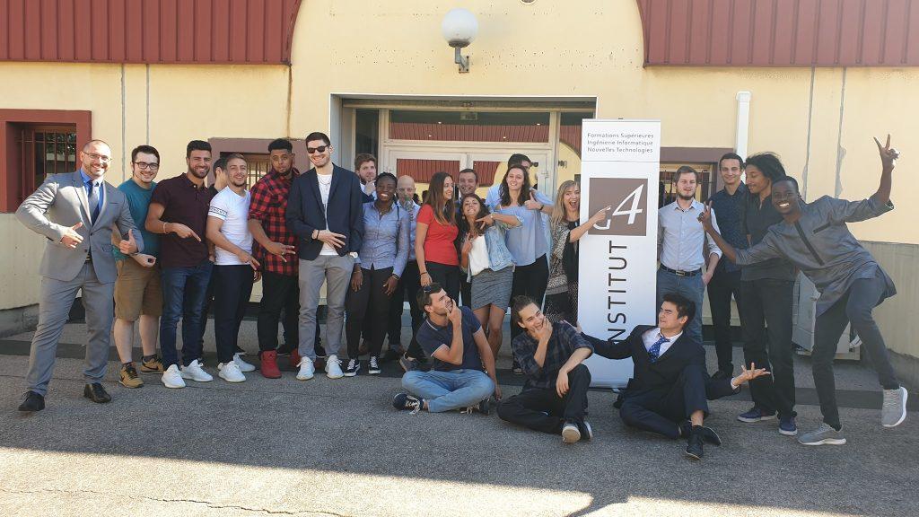 Alternants de dernière année Ingénierie de l'Institut G4 Lyon