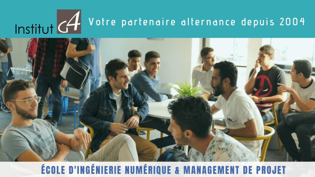 Institut G4 : Partenaire historique d'alternance depuis 2004