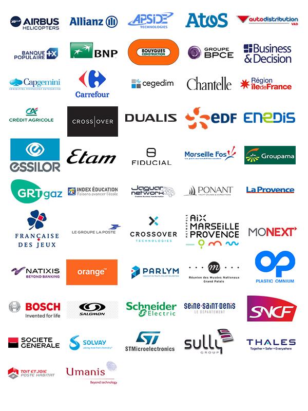 Entreprises partenaires à l'Institut G4