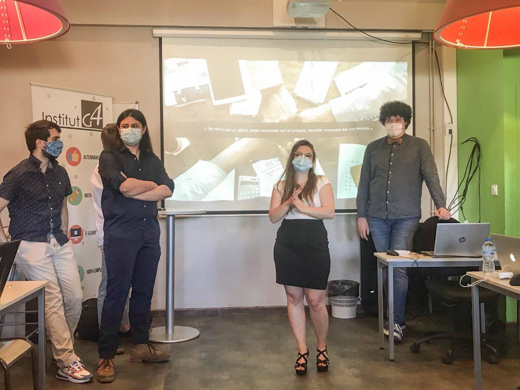 Institut G4 Lyon : Projet de création d'un intranet dédié au suivi quotidien des personnes en cours de formation